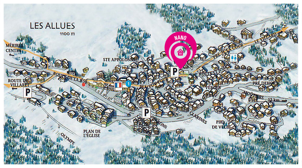 Map of Chalet Nano (8)